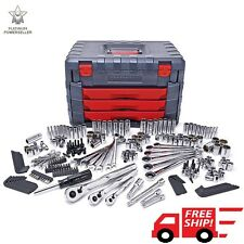 Craftsman 254 PC Mechanics Tool Set 75 Tooth Ratchet Ratcheting Wrench Socket