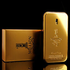 Paco Rabanne Perfume 1 One Million Eau De Toilette Mens Cologne Parfum 1.7oz NIB