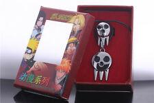 Soul Eater Death The Kid Cosplay Ring Necklace Set Free Shipping
