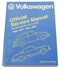 Volkswagen VW Beetle Karmann Ghia 1966-1969 Service Repair Manual Bentley