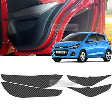 Carbon Door Decal Sticker Cover Kick Protector For CHEVROLET 2016 - 2017 Spark