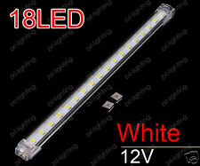4x 30cm LED Rigide Bande Lumière Pure White Connectable IP54 Solide Barre Rayure