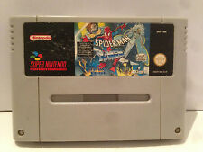 Spider Man X Men Nintendo Super NES SNES Pal Loose