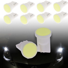 10PC Car Super Bright White LED COB SMD T10 W5W Wedge Side Light Bulb Lamp 12V H