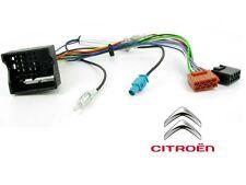 CABLE ADAPTATEUR ISO AUTORADIO CITROEN C2 C3 C4 C5 C6 C8 berlingo jumpy + Antenn