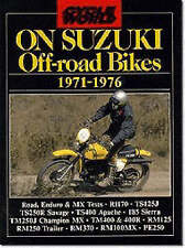Book - On Suzuki Off Road Bikes 1971-76 - 100 125 250 400 New copy Cycle World