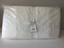 NWT Pottery Barn Ivory Cotton SILK JERSEY Quilt KING/CAL. KING