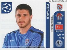 N°131 AYKUT AKGUN # TURKEY TRABZONSPOR STICKER CHAMPIONS LEAGUE 2012