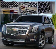 E&G CLASSIC Cadillac ESCALADE 2015i CENTER BAR LUXE WEAVE GRILLE UPPER AND LOWER
