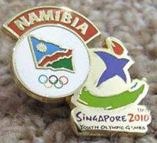 Singapore 2010 rare YOG Olympic NAMIBIA NOC Team pin