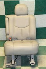 03-06 CADILLAC ESCALADE Leather Second 2nd Row Captain's Chair Seat Driver Left