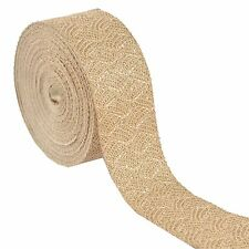 Indian Woven Sparkle Bridal Dress Border 9 YD Trim Sewing Lace Ribbon Golden