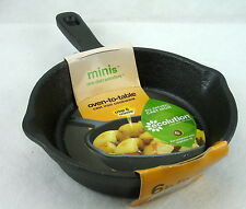 NEW Ecolution CAST IRON Mini 6 in FRY PAN Oven-To-Table