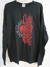 NEW - SUFFOCATION BAND / CONCERT / MUSIC T-SHIRT LONG SLEEVE EXTRA LARGE