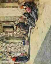 A4 Photo Menpes Mortimer 1855 1938 Brittany 1912 Midday Print Poster