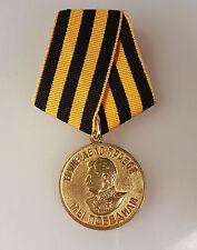 Russland Medaille Original Orden Sieg über Deutschland 1941 - 1945 WK2 Stalin
