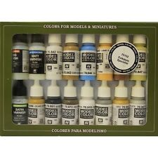 MODEL MAKING PAINT SET  VALLEJO VAL70102  Model Color  Folkstone Special (x16)