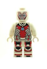 Custom Minifigure White Ironman Superhero Iron Man Printed on LEGO Parts