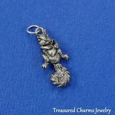 Silver SQUIRREL Nature Rodent CHARM PENDANT (Movable) *NEW*