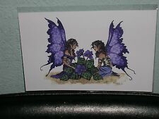 Amy Brown - African Violets - Mini Print