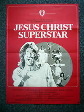 JESUS CHRIST SUPERSTAR Original 1970s One Sheet Movie Poster Ted Neeley