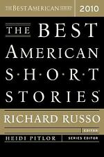 The Best American Short Stories 2010, Russo, Richard, Good Condition, Book
