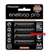 Panasonic Eneloop Pro 2550mAh AA Precharge NiMH Rechargeable Battery Sanyo