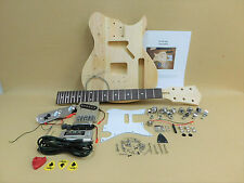 Complete NO-SOLDER DIY Kit - TE Short Scale 3/4 Size Electric Guitar + Tuner