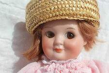 SPECTACULAR Antique GERMAN CHARACTER GOOGLY DOLL nearly 10 INCHES TALL! DARLING