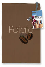 Eddingtons Potato Storage Bag 27x37cm Reusable Keep Fresh Longer Blackout Lining