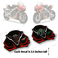 aprilia rsv4 race team fairing silhouette decals stickers