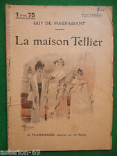 LA MAISON TELLIER GUY DE MAUPASSANT SELECT COLLECTION