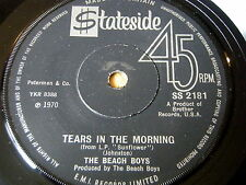 "THE BEACH BOYS - TEARS IN THE MORNING   7"" VINYL"
