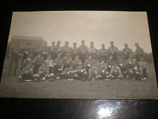 Old postcard scouting scout troup at Ardrossan c1920s