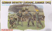DRAGON 6153 - GERMAN INFANTRY UKRAINE SUMMER 1943 1/35 - NUOVO