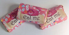 50 ALICE IN WONDERLAND MINI CANDY BAR WRAPPERS PARTY FAVOR