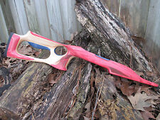 NEW Ruger 10/22 laminate BARRACUDA stock in RED,WHITE,BLUE  laser stippling .920