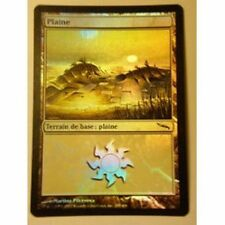 Lot de 10 plaines PREMIUM / FOIL - Plains - Terrain - Lands - Magic Mtg -