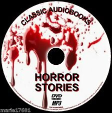 60 BEST CLASSIC HORROR AUDIOBOOK NOVELS AND SHORT STORIES ENGLISH NEW ON PC DVD