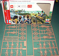 ESCI Napoleonic French-British  Artillery 1/72 #219  RARE SET