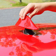 HighFashion RED Car Roof Radio AM/FM Signal Shark Fin Style Aerial Antenna Cover
