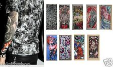 Wholesale 9 Pair Fake Seamless Tattoo Sleeves, Tattoo costume Arm Stockings