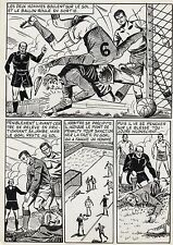 FINALE DE COUPE FOOTBALL (ROBERT HUGUES) PLANCHE ORIGINALE PILAR SANTOS PAGE 26