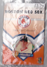 BOSTON RED SOX 2004 WORLD SERIES WINNER GLOBE PROMO PIN SERIES BILL MUELLER