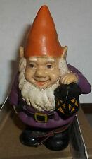 """5"""" One Gnome Stake Pick Sitter Yard Statue for Flower Pot Garden Figure ORG"""