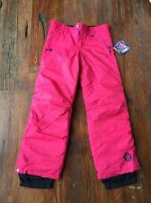 """SESSIONS SNOWBOARD/SKI Youth Girls pants size LG with """"Seams to Grow"""" insulated"""
