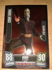Force Attax Star Wars Serie 2 Nr.207 Count Dooku Starkarte Sammelkarte