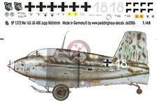 Peddinghaus 1/48 Me 163 B-1 Komet Markings Josef Mühlstroh 1./JG 400 1944 1372