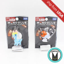 Lot 2pc Pokemon Moncolle Action Figure Takara Tomy MC-030 Amaura MC-009 YAYAKOMA