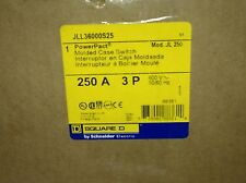 NEW SQUARE D MOLDED CASE CIRCUIT BREAKER SWITCH JLL36000S25 250A 600V(S19-2-13H)
